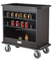 Hotel and restaurant beverage cart
