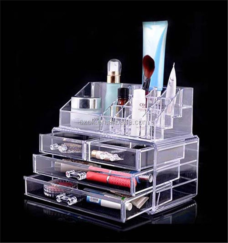 drawer divider best selling acrylic makeup organizer