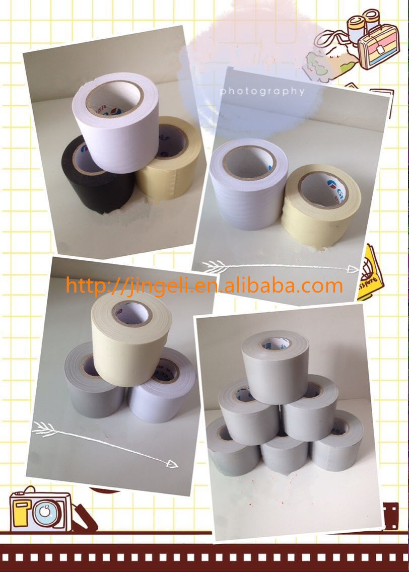 Hot sale tape Refrigeration Yellow PVC Pipe Wrapping Tape Tie Nylon Tape