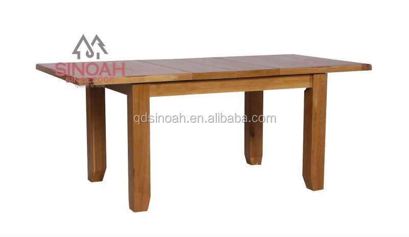 extended dining table oak wooden oak dining room