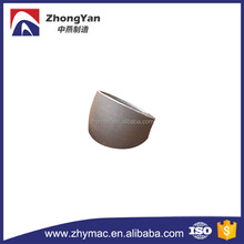 ansi b16.9 astm a234 wpb carbon steel butt welded pipe fitting 22.5 degree pipe elbow