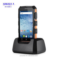 Internet of things Handled 5inch Android RFID reader 2+16G 2.4GHz/5.8GHz Dual Frequency WIFI Back 8.0MP Auto-focus camera