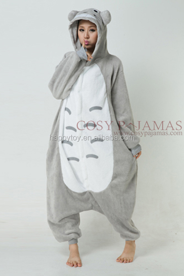 HI CE fur fashion open face totoro mascot costume,plush product shape mascot costume party use