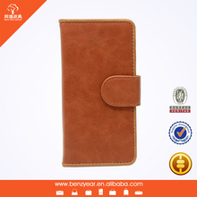 wholesale cheap 5.5 inch PU leather I phone6 cell phone covers wallet case