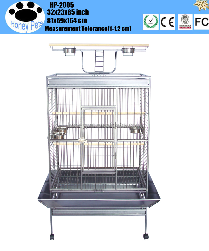 Pet Play Top Parrot Cockatiel Cockatoo Parakeet Finches stands and bird cages