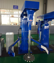 Mixing equipment used in paint industry, dispersion mixer