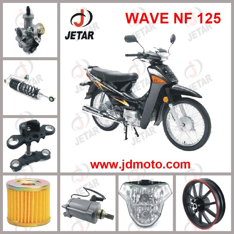 WAVE NF 125 motorcycle spare part Seat Tail Cover & Frame Cover & Front Fork