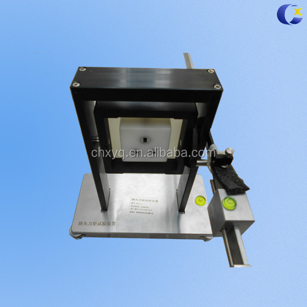 socket outlet torque test device