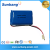 12v 2000mah 18650 li-ion battery packs for LED lights