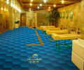 Anti-slip PVC bathing mats