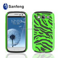 Big seller in USA new mold mobile phone holder for Samsung S3 2 in 1 case / competitive price wholesale for Samsung galaxy s3