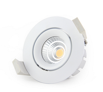 7w recessed cob downlight dimmable warm white with CE RoHS approved 2000-2800k