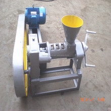 Henan small scale hand operated oil press for vegetable seeds