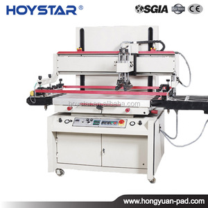 3/4 Automatic Grade cheap silk screen printing machine to print on flat glass