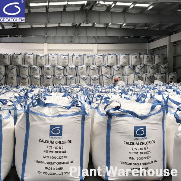 Plant Hot Sale Calcium Chloride 74%, 77%, 94%