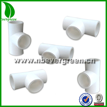 pvc pipe fitting three way elbow
