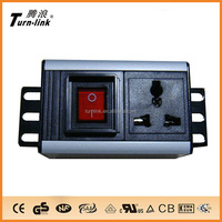 1 way Multi type Aluminum shell power distribution unit