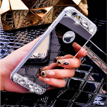 Diamond Bling Electroplating Mirror Clear TPU Phone Case For Samsung Galaxy S8,S8plus