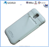 4800mAh leather flip battery cover case for samsung galaxy note 3