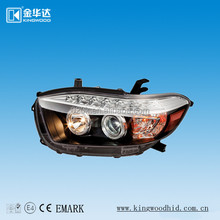 tuning light for Toyota Highlander,car head lamp,car accessories