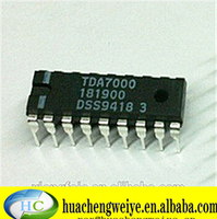New electronics ic TDA7000