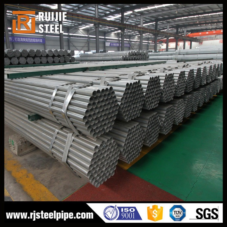 schedule 80 galvanized pipe/pre-galvanized steel pipe/galvanized iron scaffolding pipe