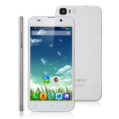 ZOPO ZP980+ Smartphone MTK6592 Octa Core 5.0 Inch FHD Screen 16GB 14.0MP Camera- white