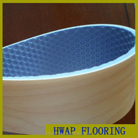 indoor pvc basketball flooring wooden pattern / good price and high quality indoor PVC sport court flooring for sale