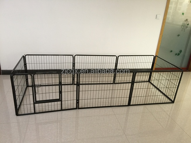 Heavy duty wire mesh dog playpen exercise yard fence