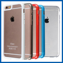 C&T Ultra Slim Hybrid Case Colorful TPU Bumper and Hard Clear Protective Back Cover for Apple iPhone 6S Plus
