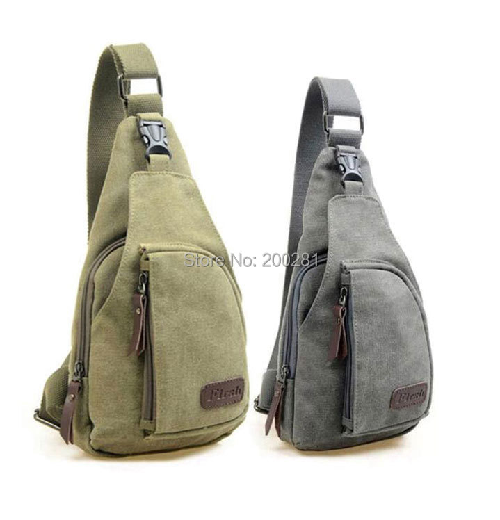 Men/'s Canvas Crossbody Satchel Shoulder Bag Messenger Bag Travel Hiking Backpack