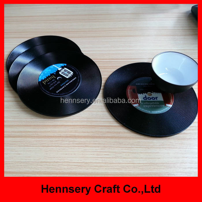 customers logo imprint factory supply cup coaster