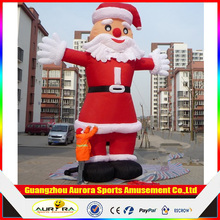 Customized size lovely christmas inflatable cartoon santa claus/Chiristmas giant inflatable/ inflatable Santa Clause cartoon