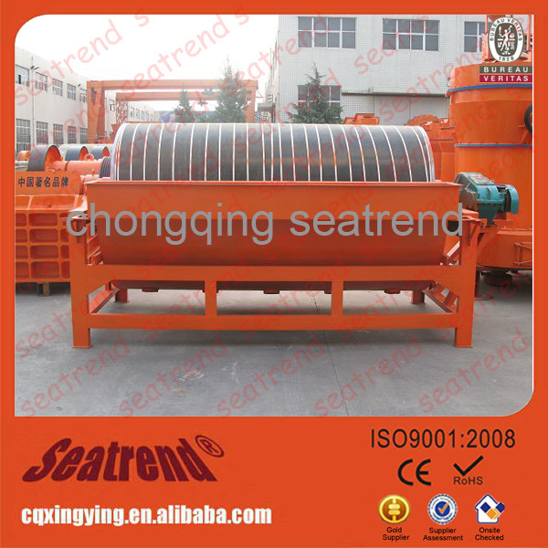 Hot sale dry and wet iron sand drum used magnetic separators
