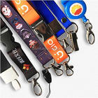 Wholesale custom printed waterproof lanyard badges