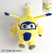 mini stuffed plush helicopter soft toys airplane colorful design