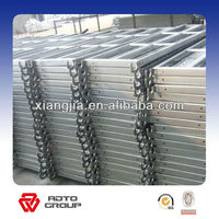 210mm galvanized aluminum construction planks