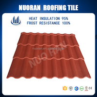 Nuoran Hot Sale Slate Coated Lowes Roofing Shingles Prices