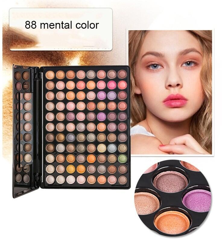 Professional 88 Color Cosmetics Eyeshadow Eye Shadow Palette Makeup Kit Set