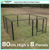 outdoor protable dog run fence