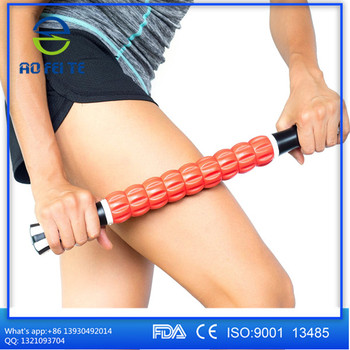ABS Body Travel Massage Muscle Fitness Exercise 2 in 1 Eva Foam Yoga Roller
