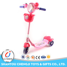 Wholesale children car slide toy scooter with three wheel