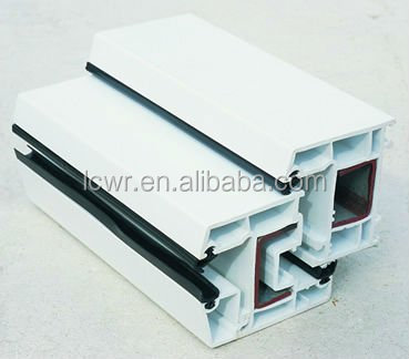 pvc window profile/pvc plastic frame/upvc profile for window and door