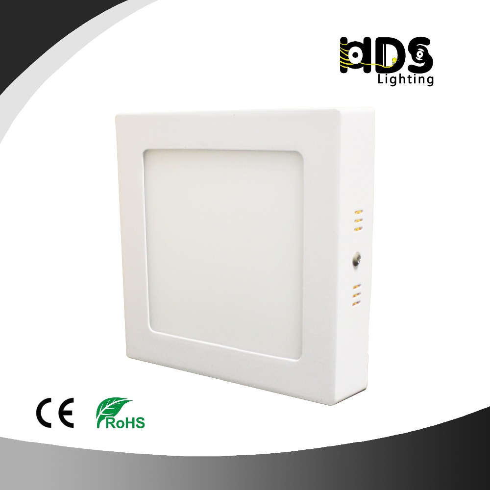 Square Round Mount Surface Led Panel Light 6w 12w 18w 24w Led Downlight