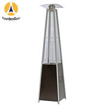 floor standing electric gas heater gas heater quadrilateral glass tube gas heater black,CE GARDENSUN 13000W with CE CSA AGA ISO