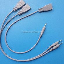 3PIN femlae to male TENS/EMS ELECTRODES WIRE, ELECTROTHERAPY WIRE