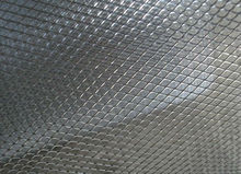 Expanded metal mesh for air filter industry