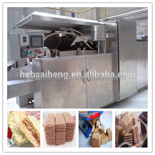 gas or electric or oil Power Source and Biscuit Type wafer biscuite machine