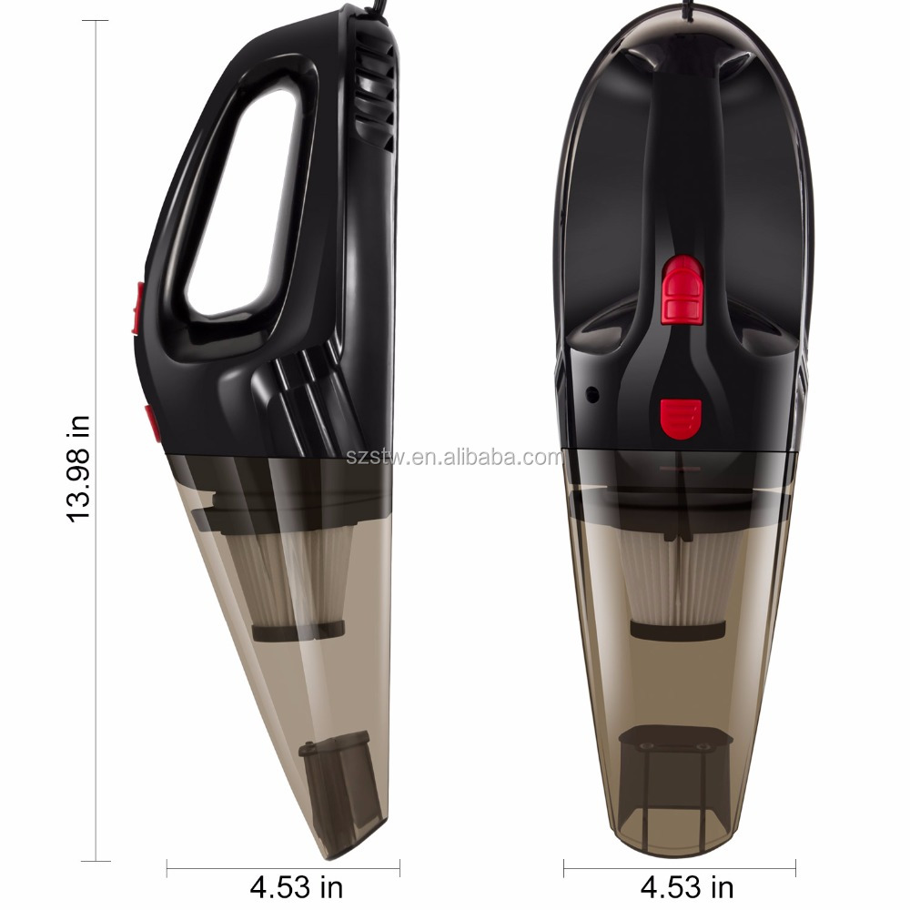 Wet Dry Portable Ash Vacuum Cleaner for Car