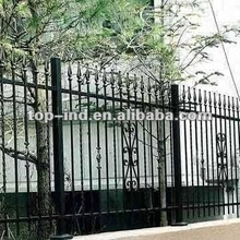 Wrought Iron Fence with Powder Coating Based on Self-color
